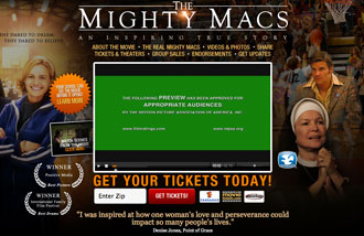 View the mighty Macs trailer